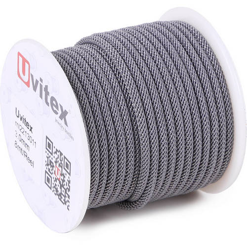 ∅4.0 - М221 - Шелковый плетеный шнур | Цвет 11