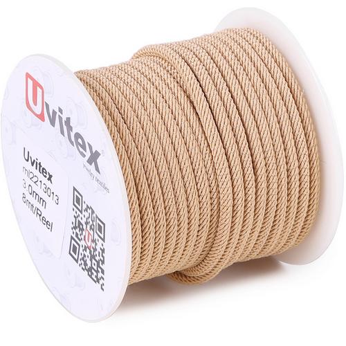 ∅3.0 - М221 - Шелковый плетеный шнур | Цвет 13