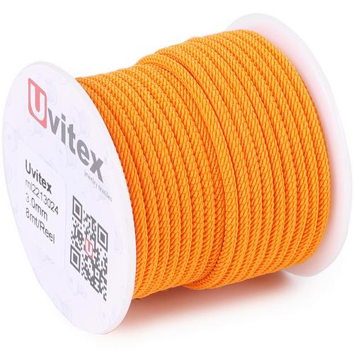 ∅3.0 - М221 - Шелковый плетеный шнур | Цвет 24