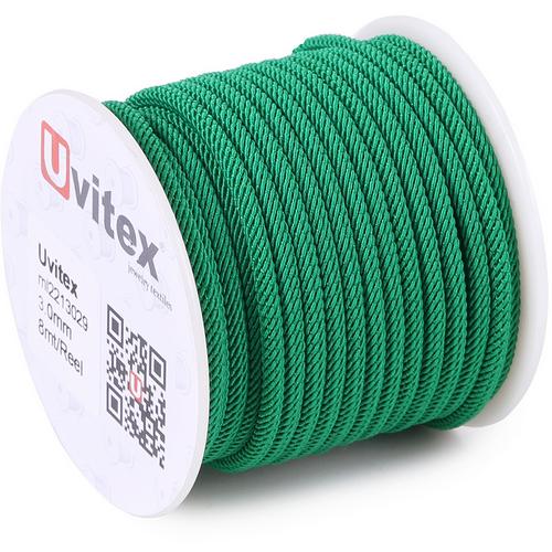 ∅3.0 - М221 - Шелковый плетеный шнур | Цвет 29