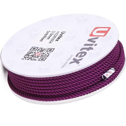 ∅1.5 - М226 - Шелковый плетеный шнур | Цвет 04