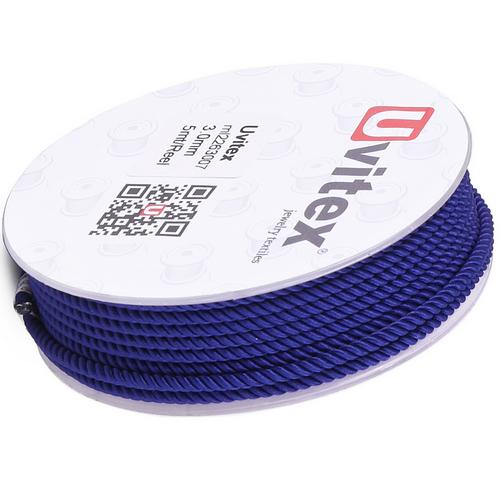 ∅3.0 - М226 - Шелковый плетеный шнур | Цвет 07