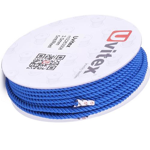 ∅1.5 - М226 - Шелковый плетеный шнур | Цвет 08