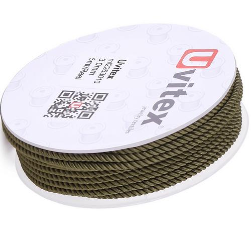 ∅1.5 - М226 - Шелковый плетеный шнур | Цвет 10