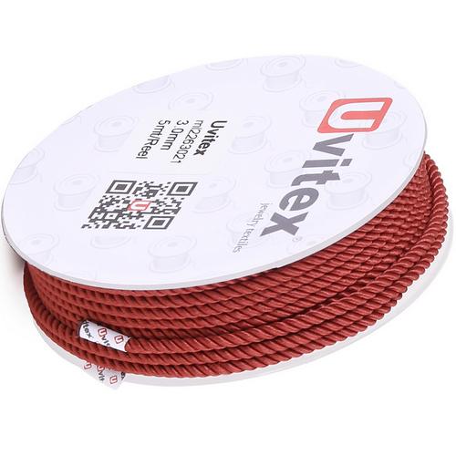 ∅1.5 - М226 - Шелковый плетеный шнур | Цвет 21