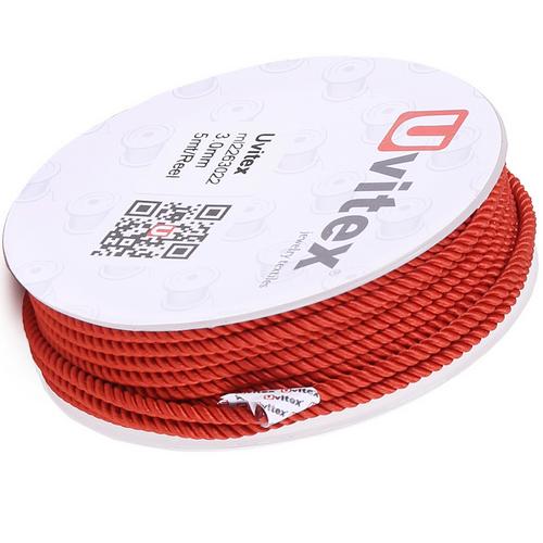 ∅1.5 - М226 - Шелковый плетеный шнур | Цвет 22