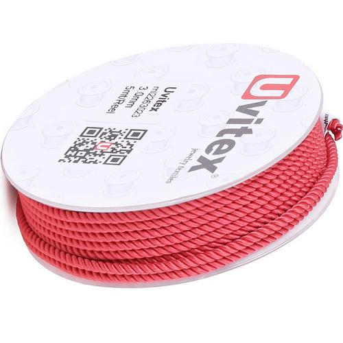 ∅1.5 - М226 - Шелковый плетеный шнур | Цвет 23