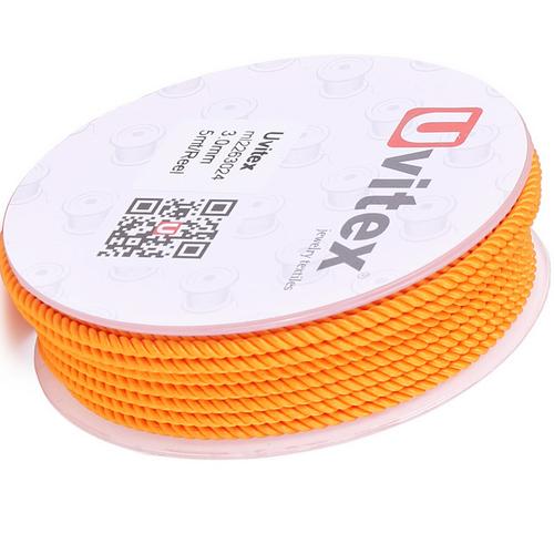 ∅2.0 - М226 - Шелковый плетеный шнур | Цвет 24