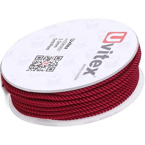 ∅1.5 - М226 - Шелковый плетеный шнур | Цвет 27
