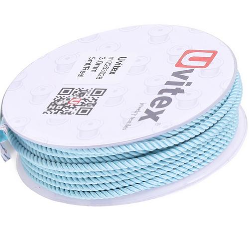 ∅1.5 - М226 - Шелковый плетеный шнур | Цвет 28