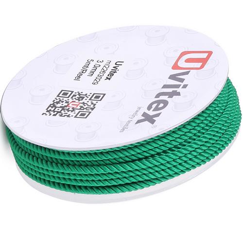 ∅1.5 - М226 - Шелковый плетеный шнур | Цвет 29