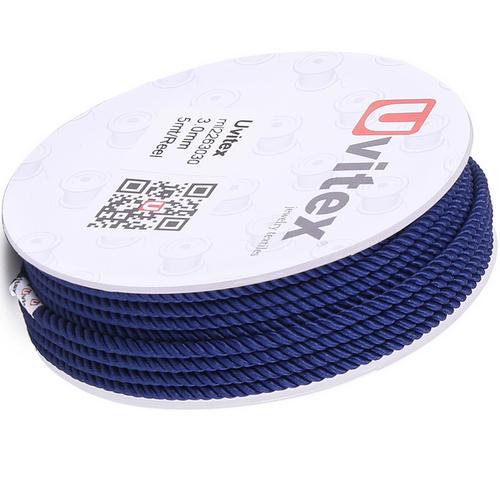 ∅1.5 - М226 - Шелковый плетеный шнур | Цвет 30