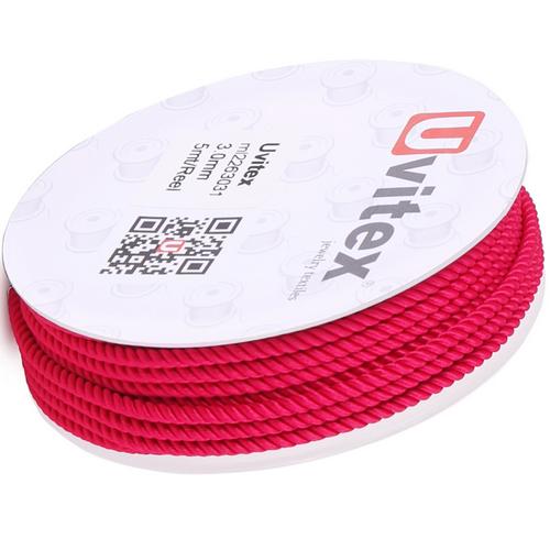 ∅1.5 - М226 - Шелковый плетеный шнур | Цвет 31