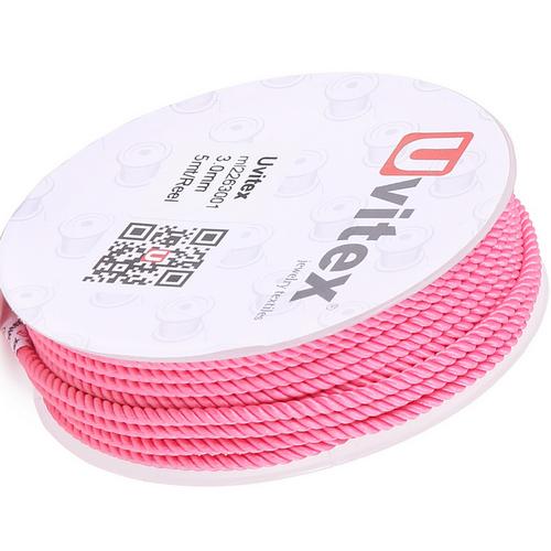 ∅1.5 - М226 - Шелковый плетеный шнур | Цвет 01