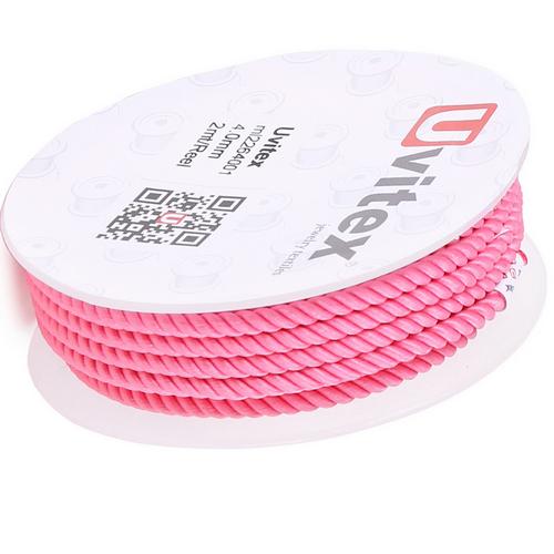 ∅4.0 - М226 - Шелковый плетеный шнур | Цвет 01