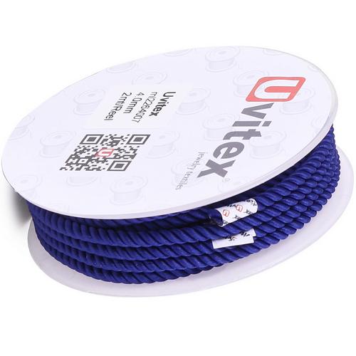 ∅4.0 - М226 - Шелковый плетеный шнур   Цвет 07