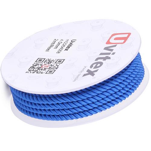 ∅4.0 - М226 - Шелковый плетеный шнур | Цвет 08