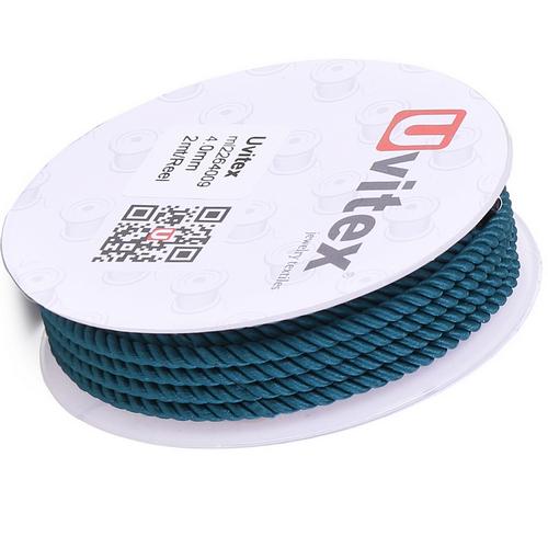 ∅4.0 - М226 - Шелковый плетеный шнур | Цвет 09
