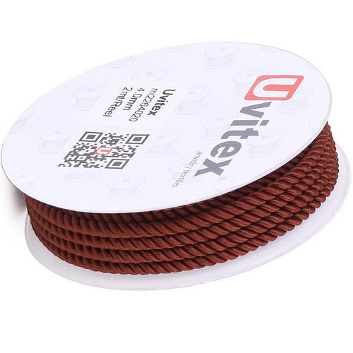 ∅4.0 - М226 - Шелковый плетеный шнур   Цвет 20