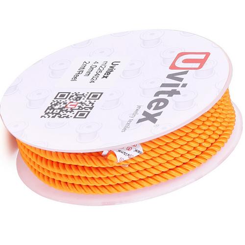 ∅4.0 - М226 - Шелковый плетеный шнур | Цвет 24