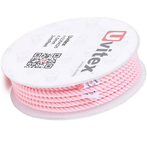 ∅4.0 - М226 - Шелковый плетеный шнур | Цвет 26