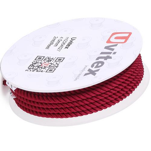 ∅4.0 - М226 - Шелковый плетеный шнур | Цвет 27