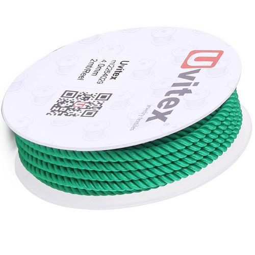 ∅4.0 - М226 - Шелковый плетеный шнур | Цвет 29