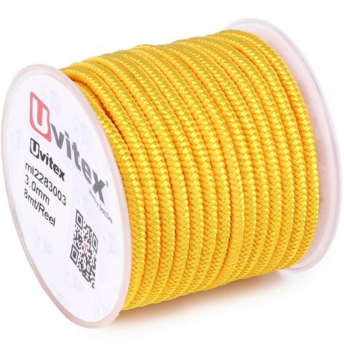 ∅3.0 - М228 - Шелковый плетеный шнур | Цвет 03