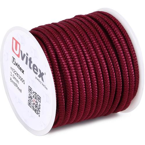 ∅3.0 - М228 - Шелковый плетеный шнур | Цвет 05