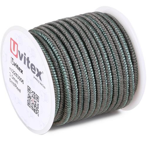 ∅3.0 - М228 - Шелковый плетеный шнур | Цвет 06