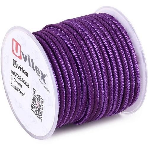 ∅3.0 - М228 - Шелковый плетеный шнур | Цвет 08