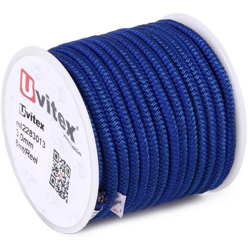 ∅3.0 - М228 - Шелковый плетеный шнур | Цвет 13