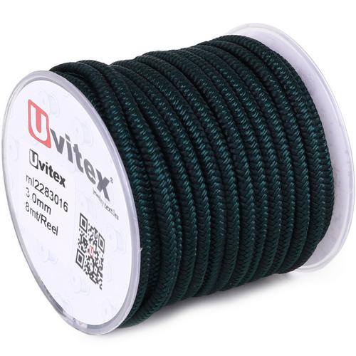 ∅3.0 - М228 - Шелковый плетеный шнур | Цвет 16