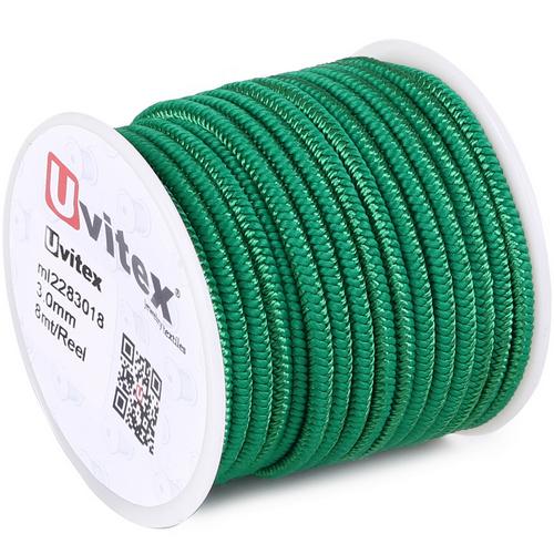 ∅3.0 - М228 - Шелковый плетеный шнур | Цвет 18