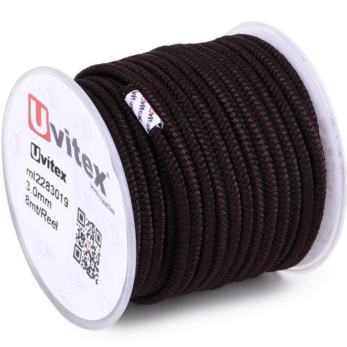 ∅3.0 - М228 - Шелковый плетеный шнур | Цвет 19