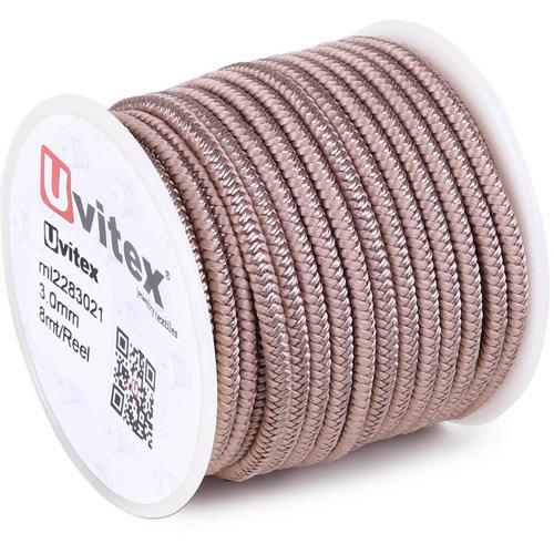 ∅3.0 - М228 - Шелковый плетеный шнур | Цвет 21