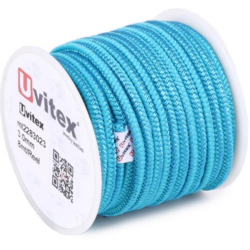 ∅3.0 - М228 - Шелковый плетеный шнур | Цвет 23