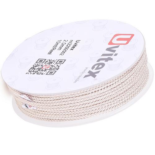∅2.0 - М229 - Шелковый плетеный шнур | Цвет 02
