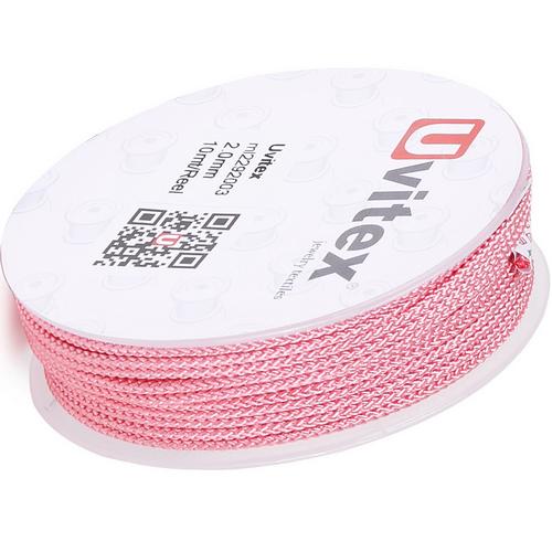 ∅2.0 - М229 - Шелковый плетеный шнур | Цвет 03