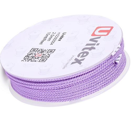 ∅2.0 - М229 - Шелковый плетеный шнур | Цвет 04