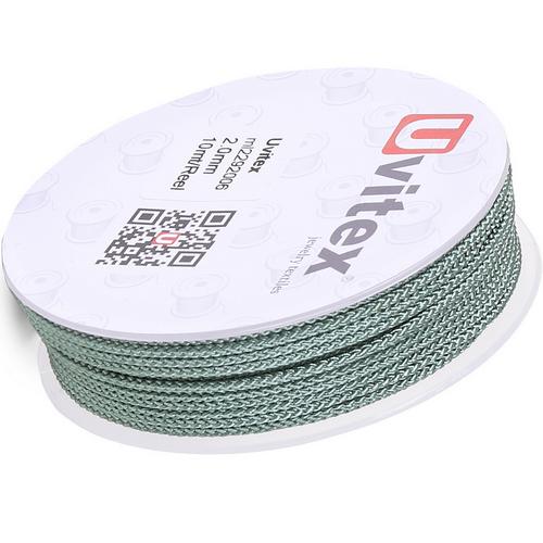∅2.0 - М229 - Шелковый плетеный шнур | Цвет 06