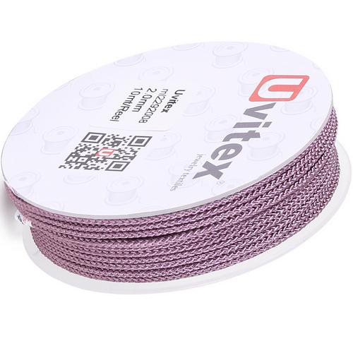 ∅2.0 - М229 - Шелковый плетеный шнур | Цвет 08