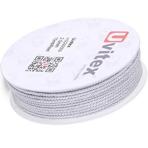 ∅2.0 - М229 - Шелковый плетеный шнур | Цвет 09