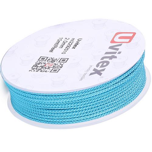 ∅2.0 - М229 - Шелковый плетеный шнур | Цвет 10