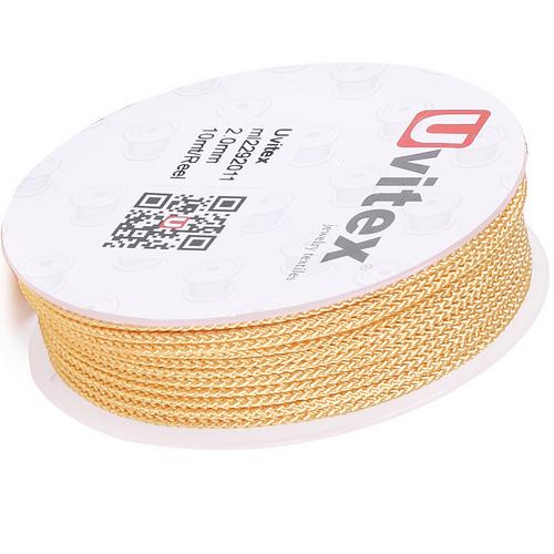 ∅2.0 - М229 - Шелковый плетеный шнур | Цвет 11