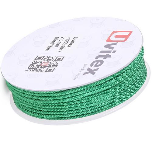 ∅2.0 - М229 - Шелковый плетеный шнур | Цвет 17