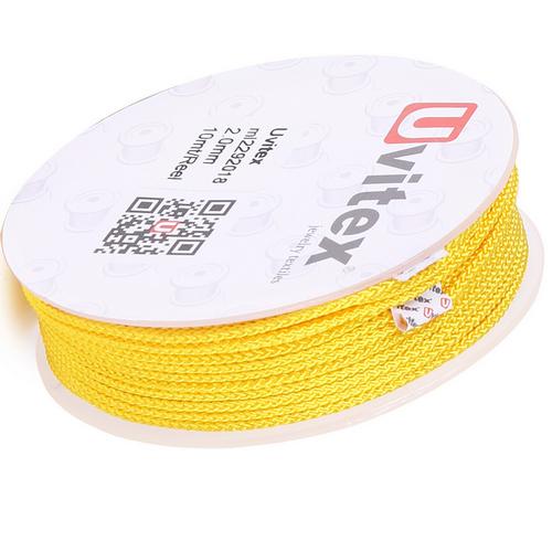 ∅2.0 - М229 - Шелковый плетеный шнур | Цвет 18