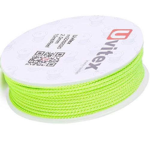 ∅2.0 - М229 - Шелковый плетеный шнур | Цвет 20