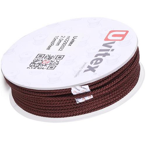 ∅2.0 - М229 - Шелковый плетеный шнур | Цвет 22