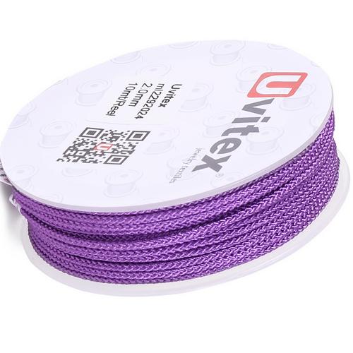 ∅2.0 - М229 - Шелковый плетеный шнур | Цвет 24